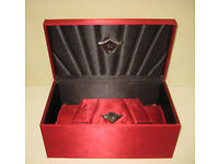 GHD SCARLET COLLECTION VANITY BOX & CLUTCH BAG
