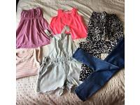 Girls clothing bundle 9-10