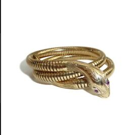 Smith & Pepper Ltd snake bangle