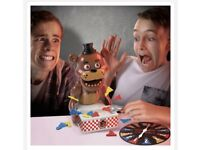 BNIB Sealed Rare ☀ Five Nights At Freddy's FNAF Jumpscare ☀ Board Game Pizza Game Scary Fun