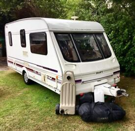 Stunning Swift Challenger Caravan with Full Awning - Cris registered