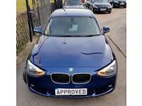 BMW 1 SERIES 2.0 116D SE 5d AUTO 114 BHP Apply for finance Online today! (blue) 2014
