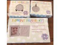 Baby imprint kit set of 3 brand new sealed