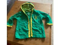 Norwich City hoody (baby 6-12 months) £5