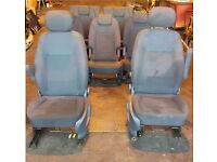 Ford Galaxy 2009 Genuine cloth Seats Complete Set Fit up to 2016