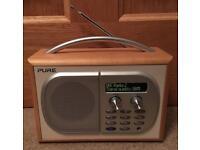 Pure Evoke 1S DAB and FM Radio
