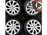 "16"" Genuine alloys VW Golf Caddy Leon excel cond excel tyres."