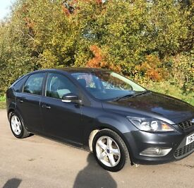 "09 Ford Focus 1.6cc (Zetec 100)*Long Mot*17"" Alloys*Serviced* BARGAIN £2500*"