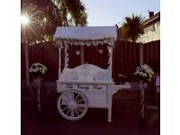 Vintage Candy Cart available for hire
