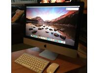 "Apple iMac 21.5"" (Mid 2014) PC i5 2.4 Ghz 8GB RAM 500GB HD Immaculate Condition"