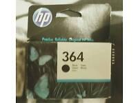 Hp 364 black ink cartridge new unopened