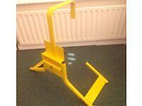 Wheel clamp for Motorhome/van