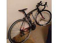 Road bike specialized Allez 2015 black Registered 54 cm