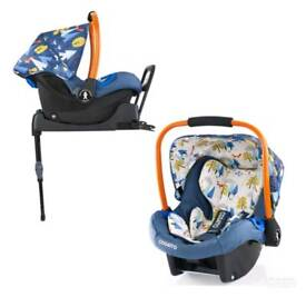 Cosatto Carseat and Base (Foxtail)