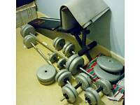 13in1 Bench and weights York 90kg