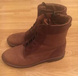 Boys brown boots from Zara