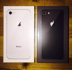 Brand new Sealed Unlocked Apple iPhone 8 64gb space Grey/Rose Gold with 1year Warranty!