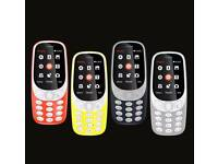New Nokia 3310 relaunched with new shape