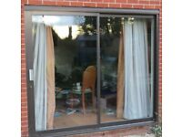 Aluminimum sliding Patio Door, with air trickle vents 2400w x 2100h