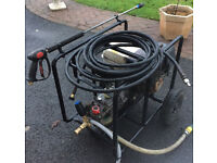 Honda Petrol Pressure Washer *Industrial Strength* comes with lance, hose, nozzle, quick release