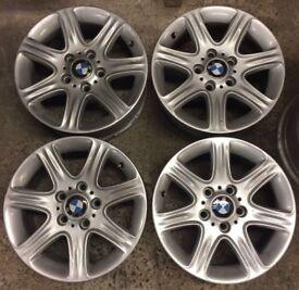 "16"" Genuine BMW F20 Silver Alloy Wheels Fits 1 3 4 5 Z3 Z4 Series VW T5 T6 Transporter 6796201"