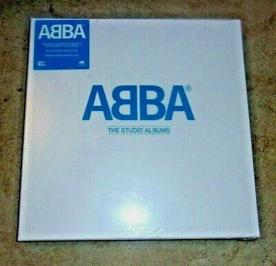 ABBA - THE STUDIO ALBUMS ; very rare deleted 8-Vinyl LP Box Set ; New & Sealed