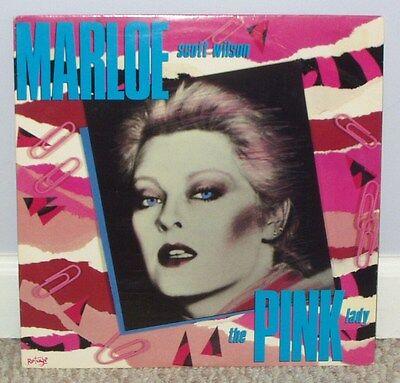 Marloe Scott Wilson PINK LADY Rare 1985 Dodge Recs. LP