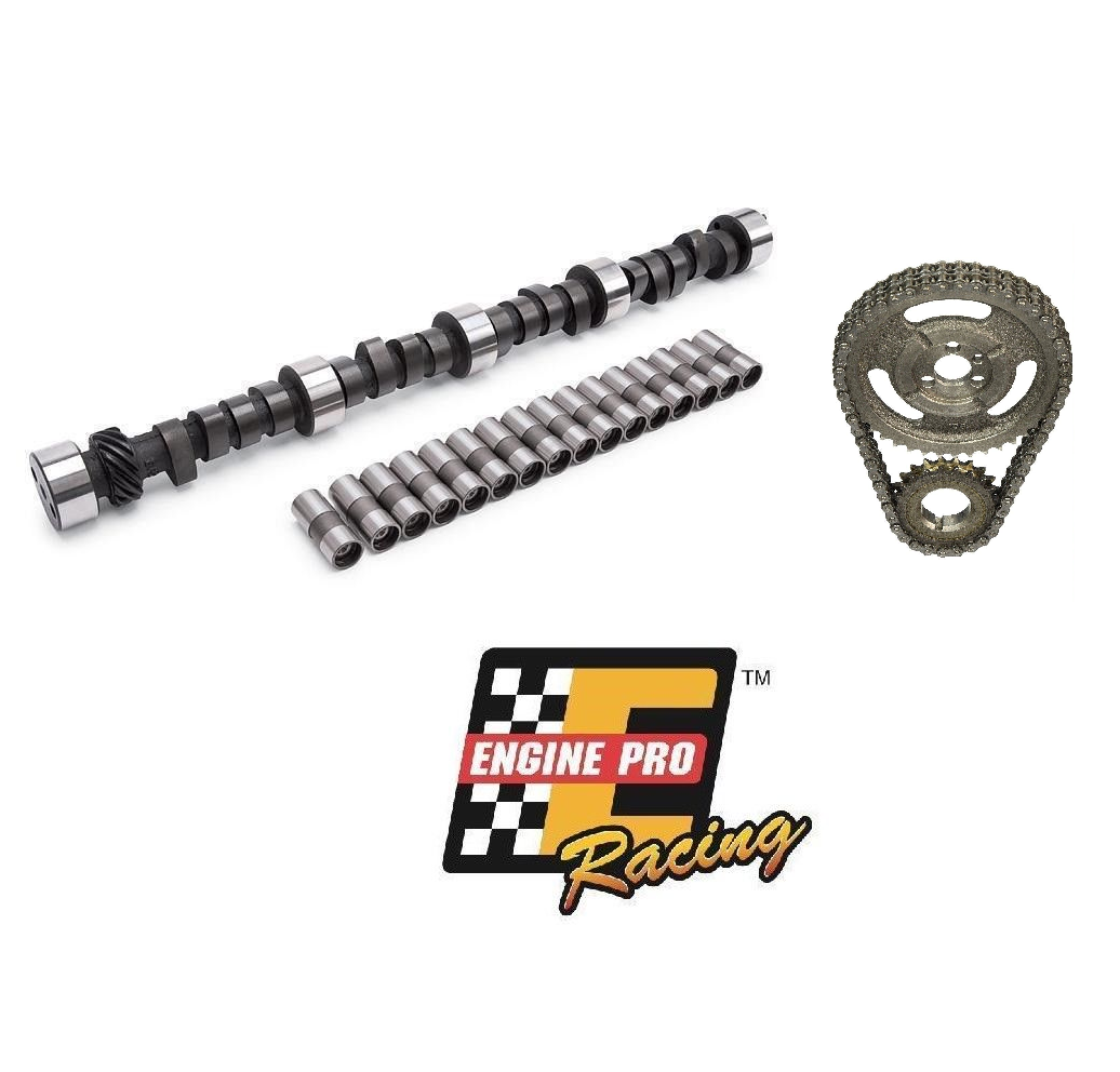 Chevy SBC 350 5.7L HP Stage 3 465//465 Camshaft Lifters /& Timing Kit MC1991