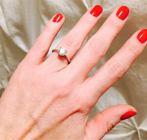 1.03 Canadian Diamond Engagement Ring for sale