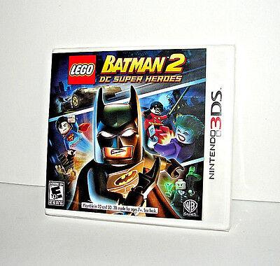 Lego Batman 2  Dc Super Heroes  Nintendo 3Ds  2012      Brand New