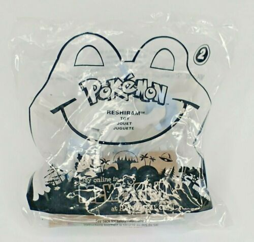 Pokemon McDonalds Happy Meal Toy 2011 Reshiram #2 Sealed Nintendo Card