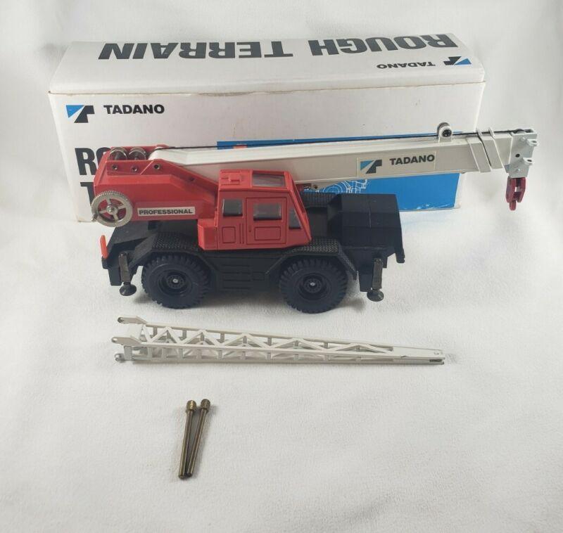 Tadano Rough Terrain Professional Mobile Crane 1:50 Scale Diecast
