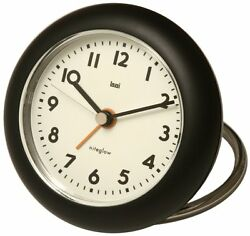 Bai Rondo Travel Alarm Clock, Black With Pouch 501. VE