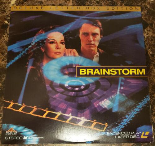 Laserdisc 1983 Brain Storm Natalie Wood