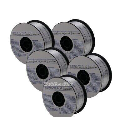 Weldingcity 5-pk Aluminum Mig Welding Wire Er5356 .035 0.9mm 1-lb Roll Usa