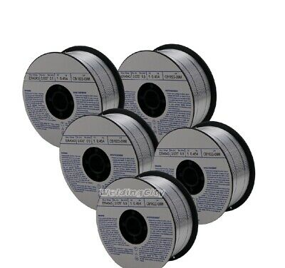 Weldingcity 5-pk Aluminum Mig Welding Wire Er4043 .035 0.9mm 1-lb Roll Usa