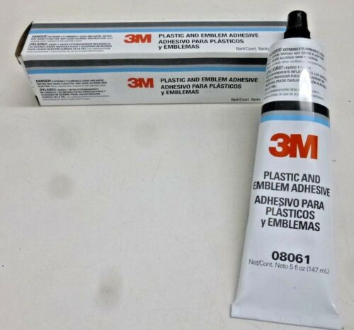 3M™ 08061 Plastic and Emblem Adhesive 5 Oz. Clear in color