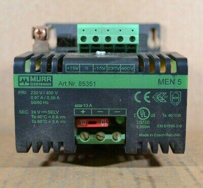 Murr Elektronik 85351 Transformer Power Supply Unit