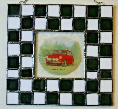 Stained Glass Mini Cooper S