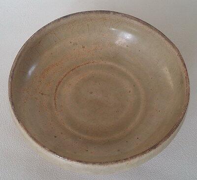 Antique Vietnameses Celadon Crackle Glazed Bowl 14-15th