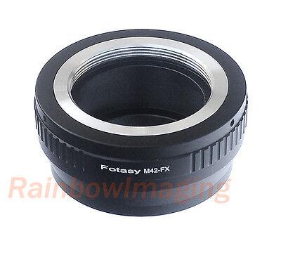 Adjustable M42 42mm Screw Mount Lens to Fujifilm X-E2 X-T10 X-T1 X-T2 Adapter