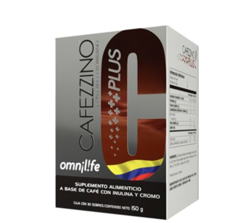 OMNILIFE Cafezzino Plus Box with 30 sachets 150 g **FREESHIPPING**