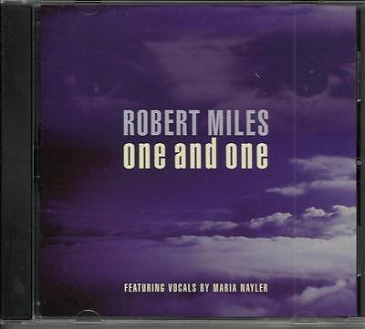 ROBERT MILES One and one SINGLE MIX & ENERGY MIX PROMO DJ CD Single 1996 MINT
