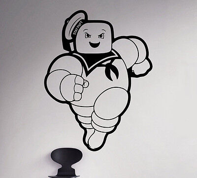 Ghostbusters Wall Decal Marshmallow Man Vinyl Sticker Removable Decor 81(nse) - Ghostbusters Decorations