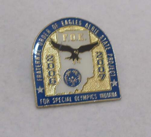 2006-07 FRATERNAL ORDER OF EAGLES Special Olympics Indiana Tack Lapel Pin
