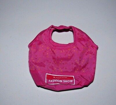 """AMERICAN GIRL PINK FASHION SHOW DOLL TOTE FOR THE 18"""" DOLL"""