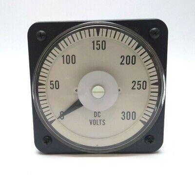 Yokogawa 103-021-rxrx Swbd 0-300vdc Switchboard Dc Analog Panel Meter
