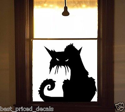 Scary CAT #2 ~ Halloween Wall or Window