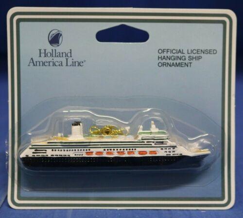 Holland America Rotterdam Cruise Ship Christmas Ornament Figurine