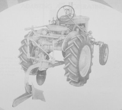 Ih International 194 Fast Hitch 1 Bottom Plow Manual 1pt Farmall 140 100 130 Sa